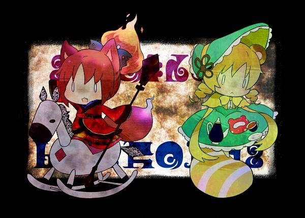 Tags: Anime, Nori Senbei, Mahou Shoujo Madoka☆Magica, Ophelia (Mahou Shoujo Madoka Magica), Sakura Kyouko, Tomoe Mami, Candeloro, Runes, Fanart, Magical Girl Madoka Magica