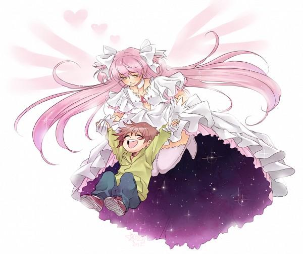 Tags: Anime, Aubz, Mahou Shoujo Madoka☆Magica, Ultimate Madoka, Kaname Tatsuya, Kaname Madoka, Fanart From DeviantART, deviantART, Fanart, Magical Girl Madoka Magica