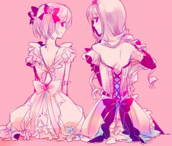 Tags: Anime, Yamada Ako, Mahou Shoujo Madoka☆Magica, Kaname Madoka, Akemi Homura, Magical Girl Madoka Magica