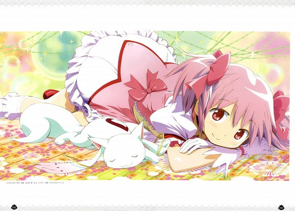 Tags: Anime, Taniguchi Junichiro, Shaft (Studio), Mahou Shoujo Madoka☆Magica, Puella Magi Madoka Magica Movie Official Guidebook