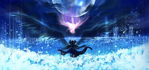 Tags: Anime, Yukinokoe, Mahou Shoujo Madoka☆Magica, Akuma Homura, Ultimate Madoka, Kaname Madoka, Akemi Homura, Facebook Cover, Magical Girl Madoka Magica