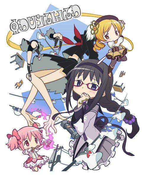 Tags: Anime, Gecchu, Mahou Shoujo Madoka☆Magica, Patricia (Mahou Shoujo Madoka☆Magica), Tomoe Mami, Mathieu, Kaname Madoka, Akemi Homura, PNG Conversion, Magical Girl Madoka Magica