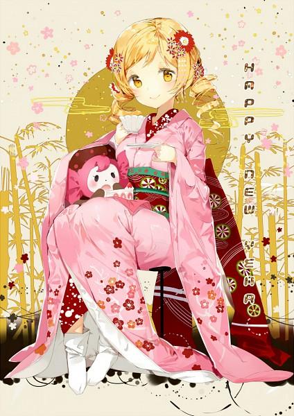 Tags: Anime, Anmi, Mahou Shoujo Madoka☆Magica, Charlotte (Madoka Magica), Tomoe Mami, Egasumi, Pixiv, Fanart, Mobile Wallpaper, Tumblr, Fanart From Pixiv, Magical Girl Madoka Magica