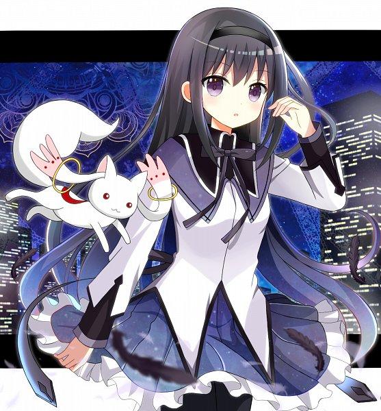 Tags: Anime, Ryoutan, Mahou Shoujo Madoka☆Magica, Akemi Homura, Kyubee, Magical Girl Madoka Magica