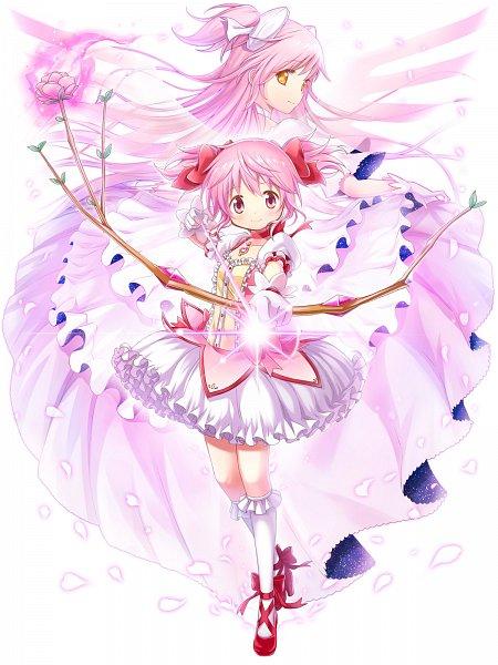 Tags: Anime, COLOPL, Mahou Shoujo Madoka☆Magica, Shironeko Project, Ultimate Madoka, Kaname Madoka, Official Art, Magical Girl Madoka Magica
