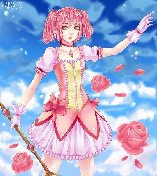 Tags: Anime, Raisacx, Mahou Shoujo Madoka☆Magica, Kaname Madoka, Wallpaper, HD Wallpaper, Magical Girl Madoka Magica