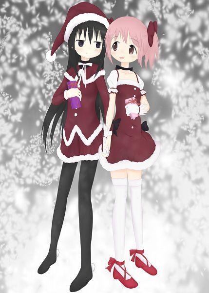 Tags: Anime, Pixiv Id 450593, Mahou Shoujo Madoka☆Magica, Kaname Madoka, Akemi Homura, Pixiv, Fanart From Pixiv, Fanart, Magical Girl Madoka Magica
