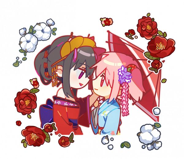 Tags: Anime, Pixiv Id 31883315, Mahou Shoujo Madoka☆Magica, Kaname Madoka, Akemi Homura, Pixiv, Fanart From Pixiv, Fanart