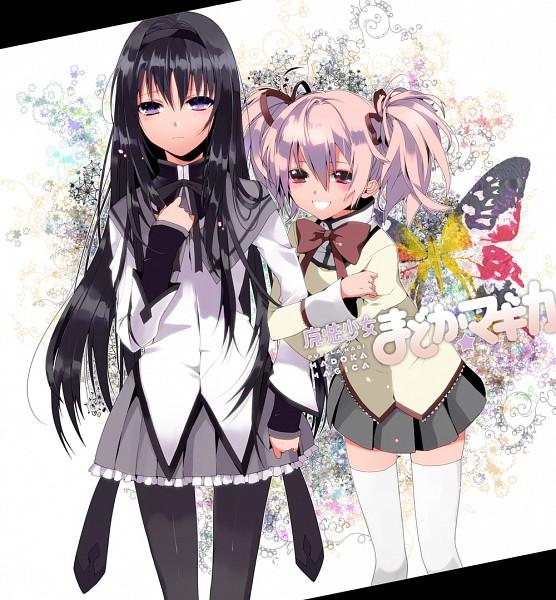 Tags: Anime, Manya (Mohu Is-mine), Mahou Shoujo Madoka☆Magica, Kaname Madoka, Akemi Homura
