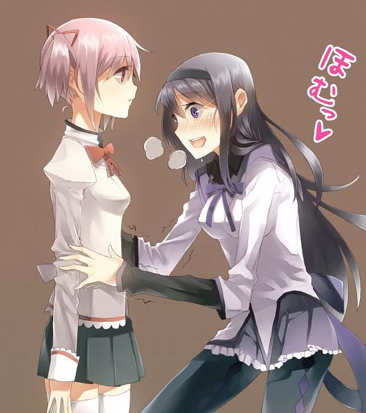 Tags: Anime, Kakei, Mahou Shoujo Madoka☆Magica, Kaname Madoka, Akemi Homura