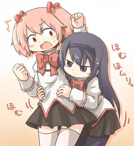 Tags: Anime, Tamutamu-t, Mahou Shoujo Madoka☆Magica, Kaname Madoka, Akemi Homura