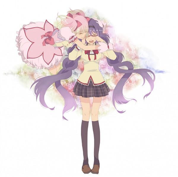Tags: Anime, Suzuko (Star8383), Mahou Shoujo Madoka☆Magica, Kaname Madoka, Akemi Homura, Magical Girl Madoka Magica