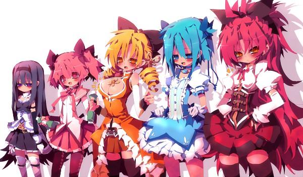 Tags: Anime, Dango Mushi, Mahou Shoujo Madoka☆Magica, Miki Sayaka, Kaname Madoka, Sakura Kyouko, Akemi Homura, Tomoe Mami, Tomoe Mami (Cosplay), Kaname Madoka (Cosplay), Miki Sayaka (Cosplay), Akemi Homura (Cosplay), Sakura Kyouko (Cosplay), Magical Girl Madoka Magica