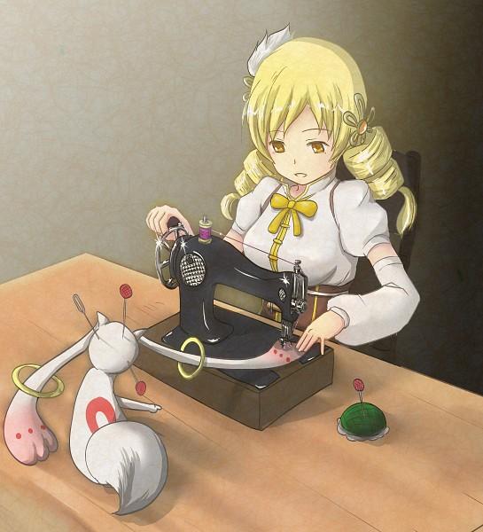 Tags: Anime, Polpon, Mahou Shoujo Madoka☆Magica, Kyubee, Tomoe Mami