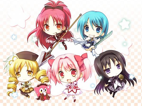Tags: Anime, Mori Kouichirou, Mahou Shoujo Madoka☆Magica, Akemi Homura, Charlotte (Madoka Magica), Tomoe Mami, Miki Sayaka, Kaname Madoka, Sakura Kyouko, Magical Girl Madoka Magica