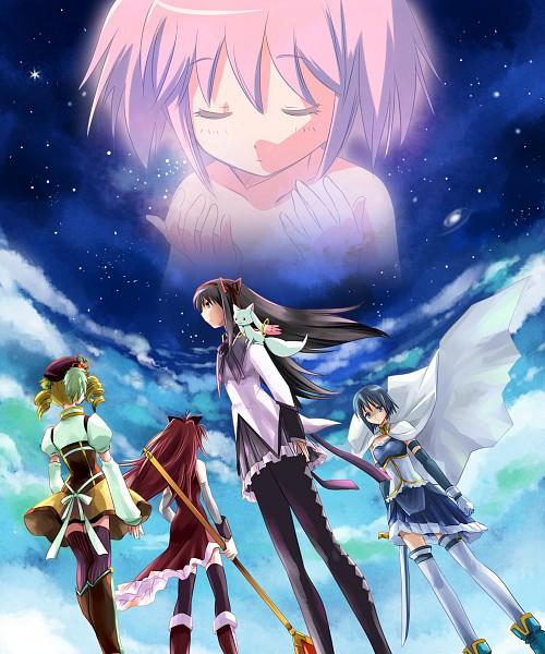 Tags: Anime, Ashi Ura, Mahou Shoujo Madoka☆Magica, Tomoe Mami, Miki Sayaka, Kaname Madoka, Sakura Kyouko, Akemi Homura, Kyubee, Magical Girl Madoka Magica
