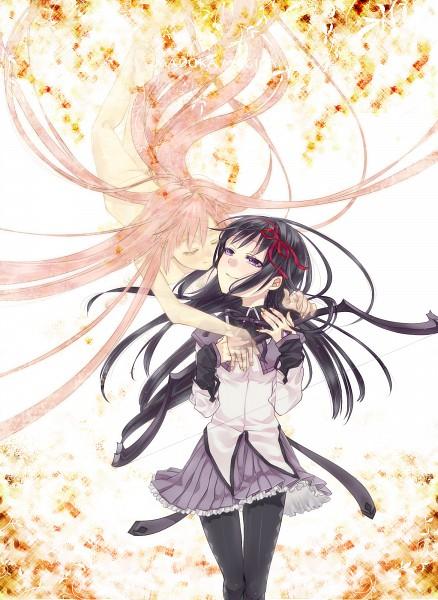 Tags: Anime, Akua, Mahou Shoujo Madoka☆Magica, Kaname Madoka, Akemi Homura, Ultimate Madoka