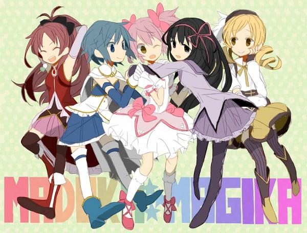 Tags: Anime, Toco (7037034), Mahou Shoujo Madoka☆Magica, Tomoe Mami, Miki Sayaka, Kaname Madoka, Akemi Homura, Sakura Kyouko