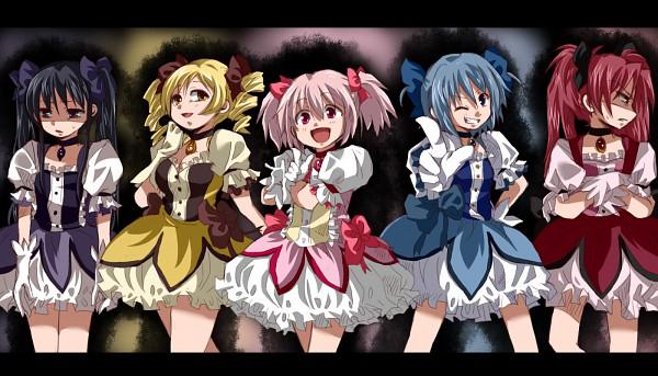 Tags: Anime, Maru (092102040413), Mahou Shoujo Madoka☆Magica, Akemi Homura, Sakura Kyouko, Tomoe Mami, Miki Sayaka, Kaname Madoka, Kaname Madoka (Cosplay)