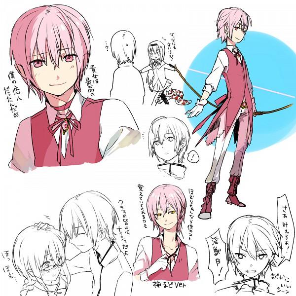 Tags: Anime, Kurono Yuu, Mahou Shoujo Madoka☆Magica, Kyubee, Kaname Madoka, Akemi Homura, Translated, PNG Conversion, Magical Girl Madoka Magica