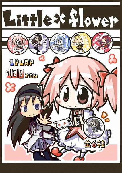 Tags: Anime, Aoblue, Mahou Shoujo Madoka☆Magica, Miki Sayaka, Kaname Madoka, Sakura Kyouko, Akemi Homura, Kyubee, Tomoe Mami
