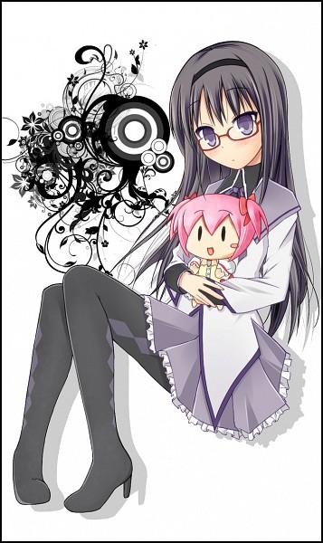 Tags: Anime, Sk (Buta), Mahou Shoujo Madoka☆Magica, Akemi Homura, Kaname Madoka