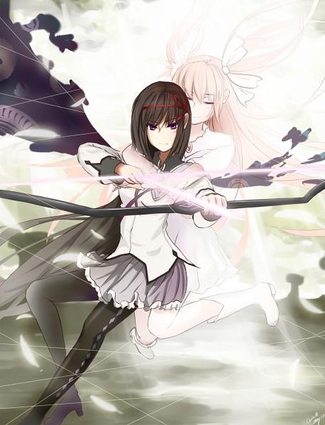Tags: Anime, Ceila, Mahou Shoujo Madoka☆Magica, Ultimate Madoka, Kaname Madoka, Akemi Homura