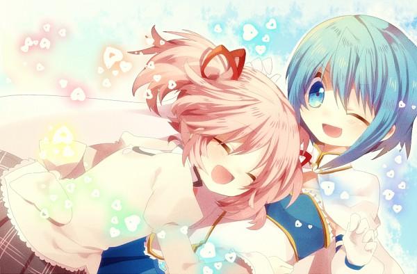 Tags: Anime, Hetaling, Mahou Shoujo Madoka☆Magica, Miki Sayaka, Kaname Madoka