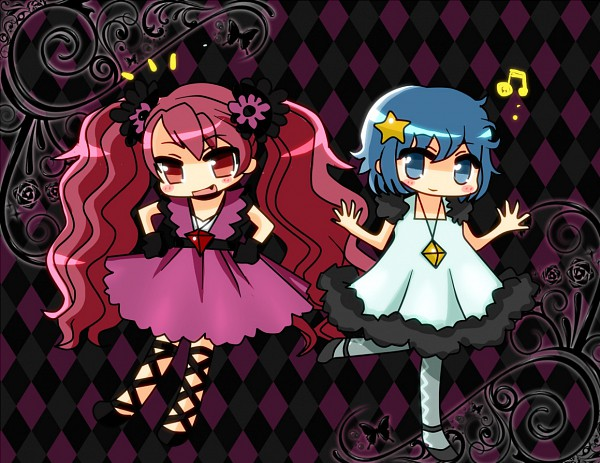 Tags: Anime, Seleb629, Mahou Shoujo Madoka☆Magica, Sakura Kyouko, Miki Sayaka