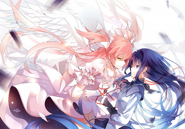 Tags: Anime, Dhiea (Pixiv270545), Mahou Shoujo Madoka☆Magica, Ultimate Madoka, Akemi Homura, Fanart, Pixiv, Comic Market 80, Scan, Magical Girl Madoka Magica