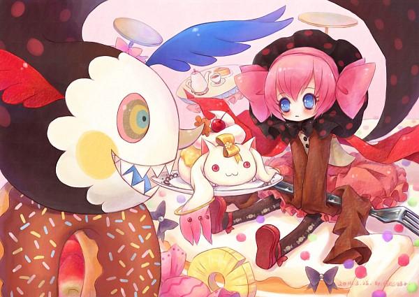 Tags: Anime, Sanmi Tenten, Mahou Shoujo Madoka☆Magica, Charlotte (Madoka Magica), Kyubee, Puella Magi Madoka Magica