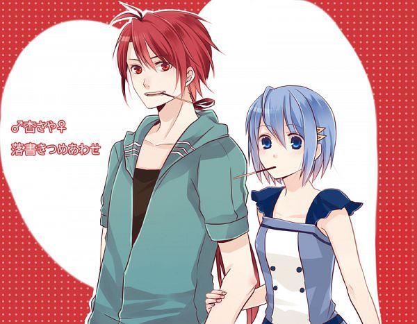 Tags: Anime, Pixiv Id 3279679, Mahou Shoujo Madoka☆Magica, Sakura Kyouko, Miki Sayaka