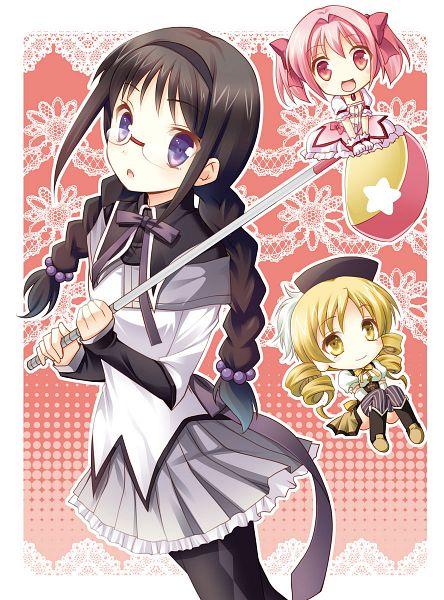 Tags: Anime, Mori Kouichirou, Mahou Shoujo Madoka☆Magica, Akemi Homura, Tomoe Mami, Kaname Madoka, Golf, Magical Girl Madoka Magica