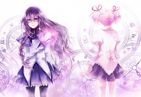 Tags: Anime, Fuu (Goingmyway421), Mahou Shoujo Madoka☆Magica, Kaname Madoka, Akemi Homura, Magical Girl Madoka Magica