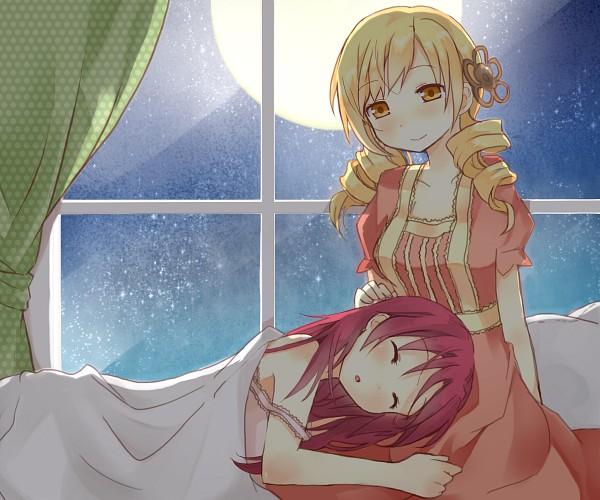 Tags: Anime, Tsundereru, Mahou Shoujo Madoka☆Magica, Sakura Kyouko, Tomoe Mami, Magical Girl Madoka Magica
