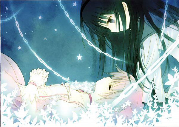 Tags: Anime, Sakurazawa Izumi, Mahou Shoujo Madoka☆Magica, Kaname Madoka, Akemi Homura, Scan, Magical Girl Madoka Magica