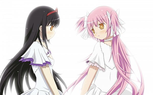 Tags: Anime, Ototsu (Nitta225), Mahou Shoujo Madoka☆Magica, Kaname Madoka, Akemi Homura, Ultimate Madoka, Ultimate Madoka (Cosplay), Magical Girl Madoka Magica
