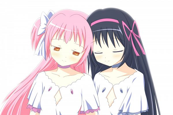 Tags: Anime, Ototsu (Nitta225), Mahou Shoujo Madoka☆Magica, Akemi Homura, Ultimate Madoka, Kaname Madoka, Ultimate Madoka (Cosplay), Magical Girl Madoka Magica