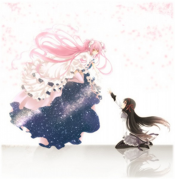 Tags: Anime, Kawamura Raichi, Mahou Shoujo Madoka☆Magica, Kaname Madoka, Akemi Homura, Ultimate Madoka, Puella Magi Madoka Magica
