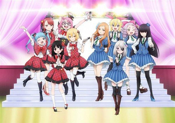 Tags: Anime, Mahou Shoujo Site, Shioi Rina, Yatsumura Tsuyuno, Kosame Amagai, Asagiri Aya, Takiguchi Asahi, Shizukume Sarina, Anazawa Nijimi, Suirenji Kiyoharu, Idol, Izumigamine Mikari, Reflectors, Magical Girl Site