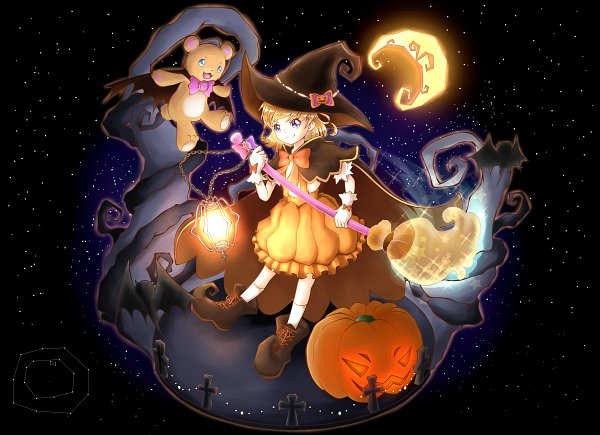 Tags: Anime, Pixiv Id 14388480, Mahou Tsukai Precure!, Asahina Mirai, Mofurun, Vampire Costume, Constellation
