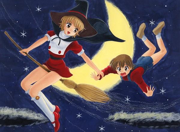 Tags: Anime, Pixiv Id 5353932, Mahou Tsukai Sally, Hanamura Yoshiko, Yumeno Sally, Pixiv, Fanart, Character Request