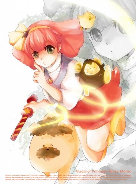 Tags: Anime, Jun Can, Mahou no Princess Minky Momo, Pipiru, Minky Momo, Shindobu, Mocha (Minky Momo), Yellow Footwear, Monkey, Fanart From Pixiv, Fanart, Pixiv, Magical Princess Minky Momo: Hold On To Your Dreams