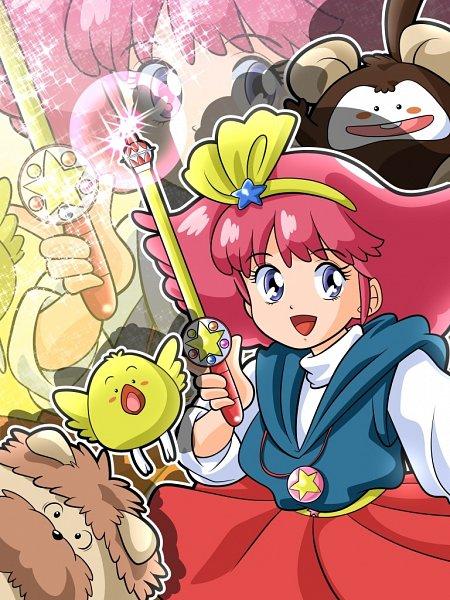 Tags: Anime, Pixiv Id 4682741, Mahou no Princess Minky Momo, Mocha (Minky Momo), Minky Momo, Pipiru, Shindobu, Monkey, Fanart From Pixiv, Fanart, Pixiv, Magical Princess Minky Momo: Hold On To Your Dreams