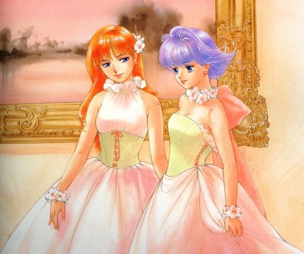 Tags: Anime, Takada Akemi, Mahou no Tenshi Creamy Mami, Ayase Megumi, Creamy Mami, Painting (Object)