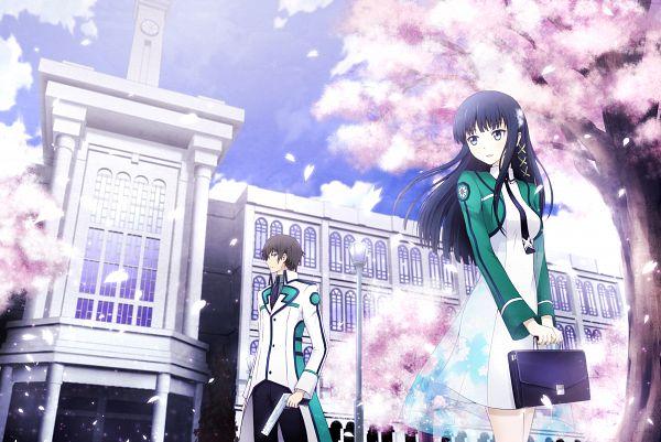 Tags: Anime, Pixiv Id 5390339, Mahouka Koukou no Rettousei, Shiba Miyuki, Shiba Tatsuya, Fanart From Pixiv, Pixiv, Fanart, The Irregular At Magic High School