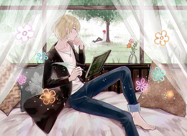 Tags: Anime, Pixiv Id 12507594, Mahoutsukai no Yakusoku, Mithra (Mahoutsukai no Yakusoku), Rutile (Mahoutsukai no Yakusoku), Writing, Pixiv, Fanart, Fanart From Pixiv, Promise Of Wizard