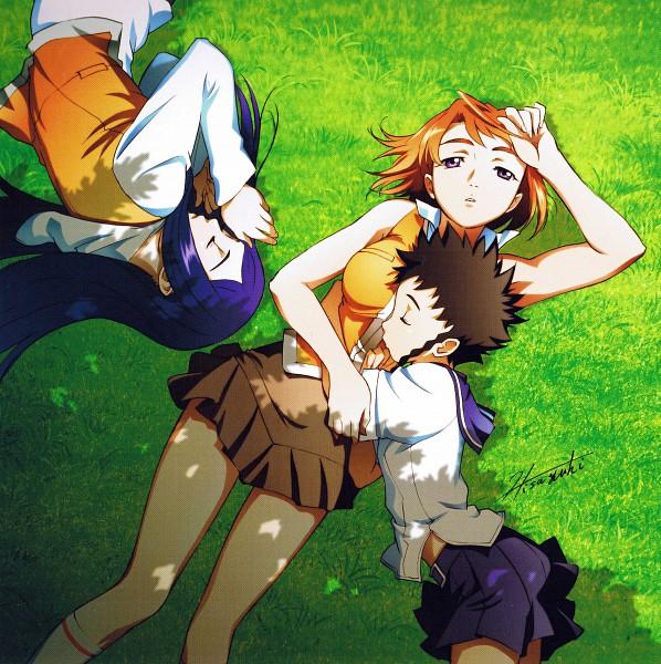 Tags: Anime, Mai-hiME, Kuga Natsuki, Minagi Mikoto, Tokiha Mai