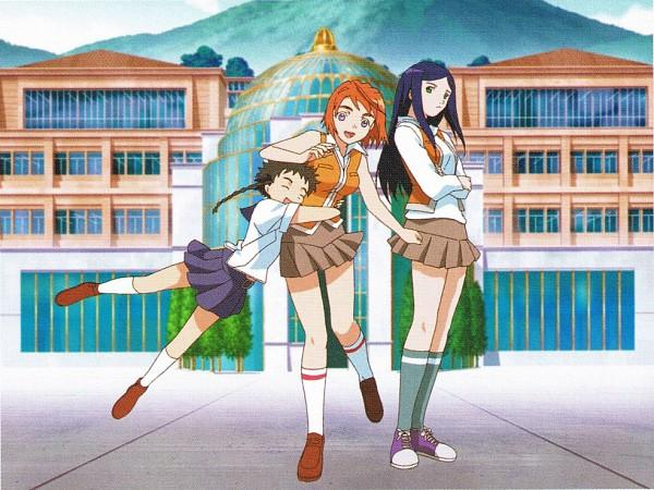 Tags: Anime, Mai-hiME, Tokiha Mai, Kuga Natsuki, Minagi Mikoto