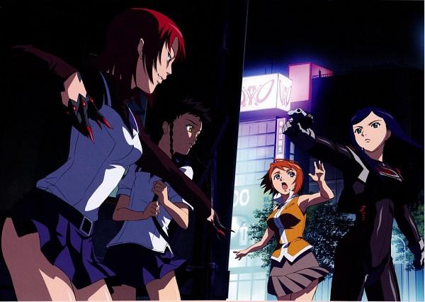 Tags: Anime, Mai-hiME, Yuuki Nao, Kuga Natsuki, Minagi Mikoto, Tokiha Mai